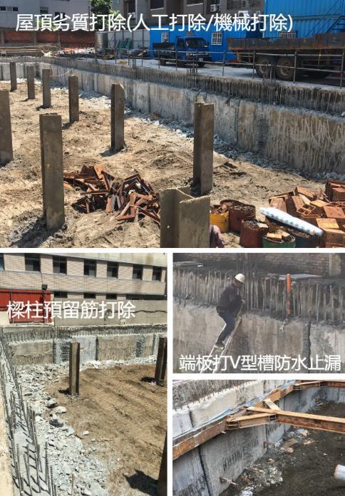 微型樁施工、微型樁施工-補漿、微型樁壓樑