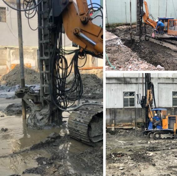 鋼軌樁及地質改良