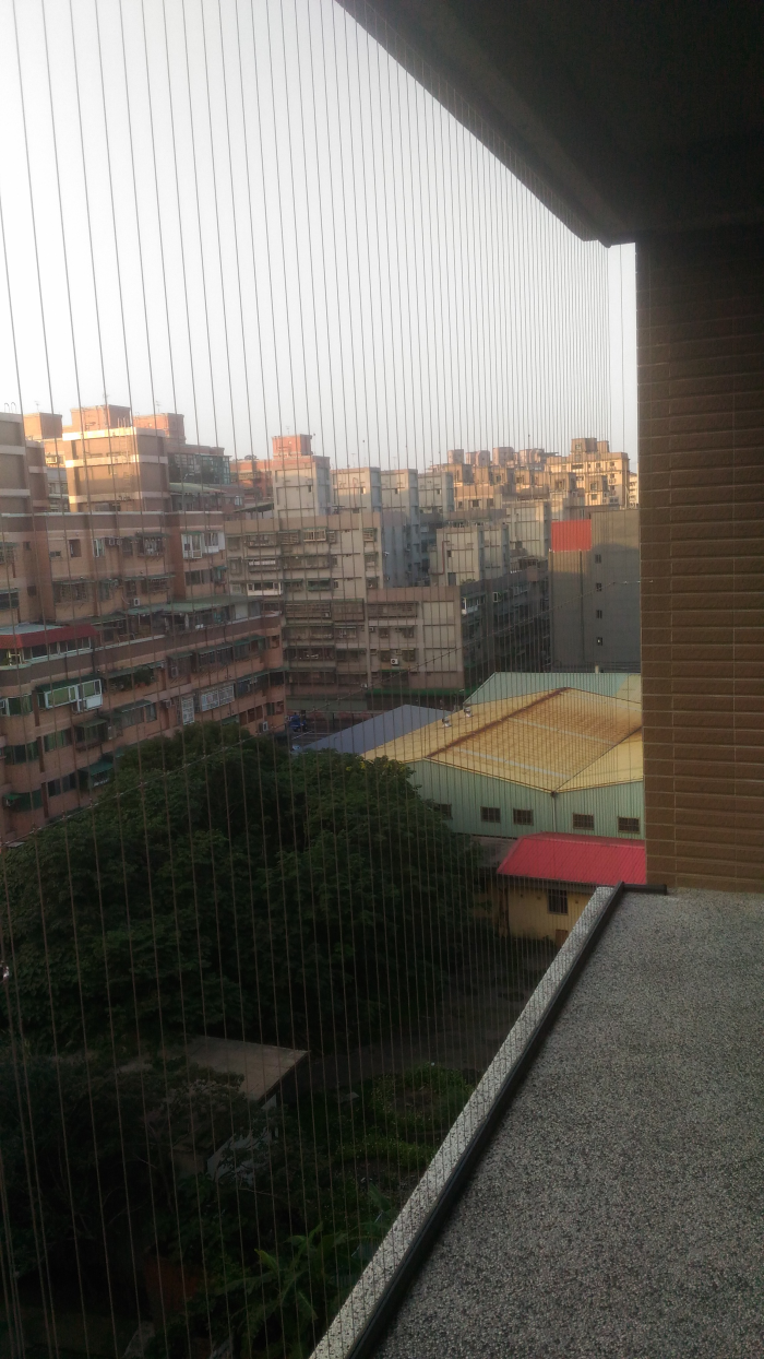 隱形鐵窗-露臺