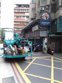 材廢料吊運車