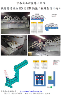 電梯機房動力設備隔振有限元素模擬分析