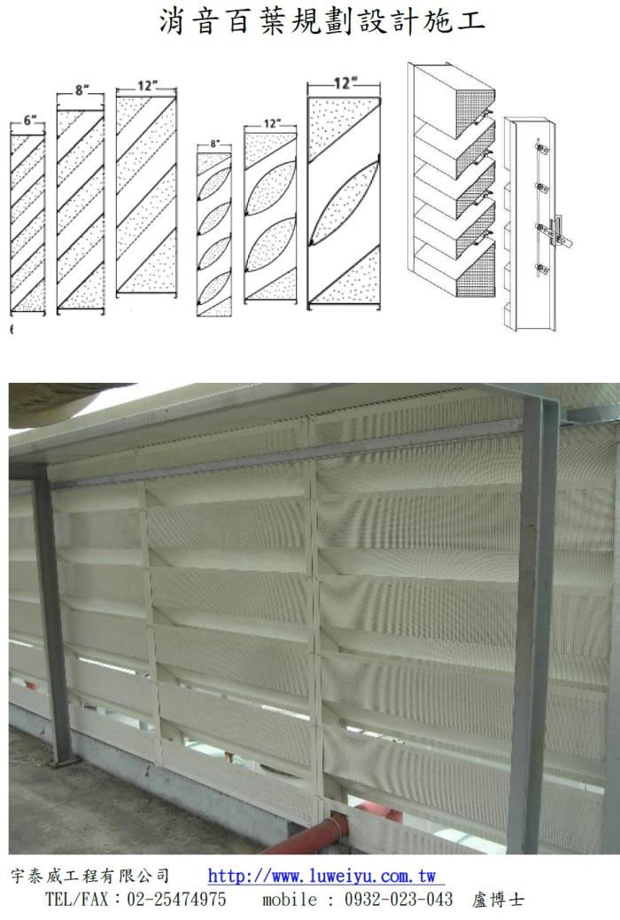 消音百葉與消音箱設計與施工