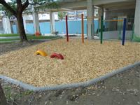 木屑砂池整地