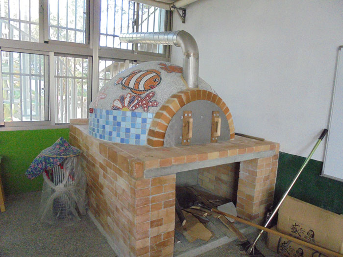 新設披薩窯