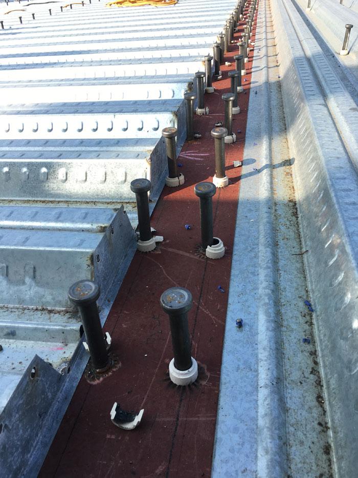 樓承鋼板+剪力釘