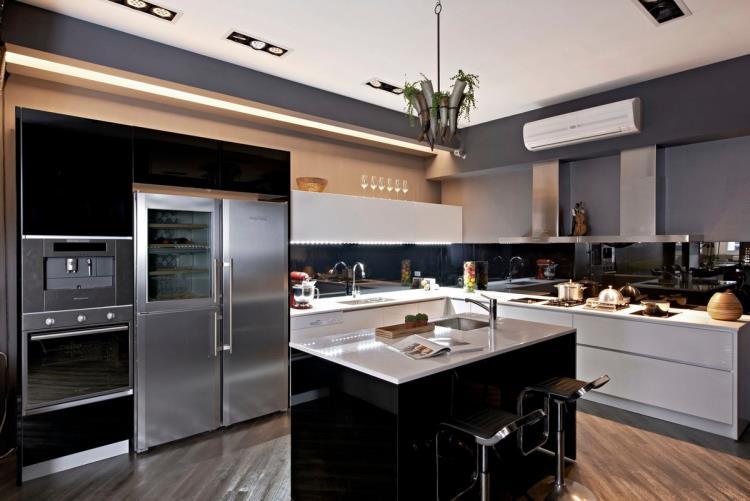 Gorden高登廚櫃廚房設計 Ǐ�代風格廚具 ɫ�登廚房設計有限公司商品實績