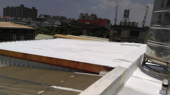 頂樓鐵皮防水隔熱