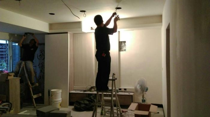室內裝潢水電施工
