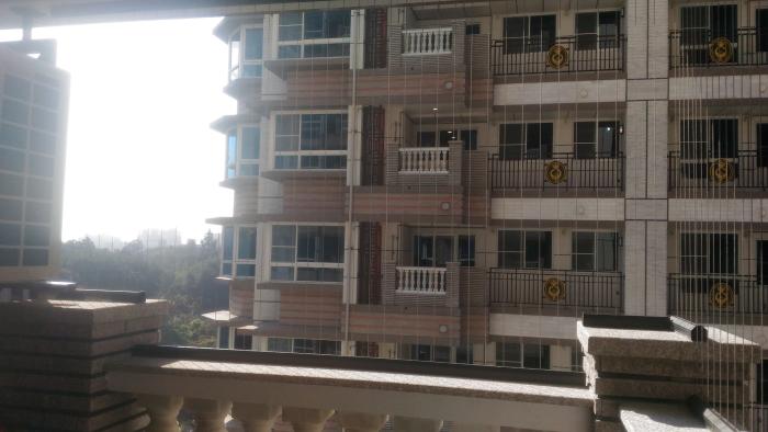 隱形鐵窗-陽台