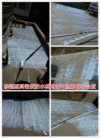 滲透型高密度防水材增加中塗強化密合度