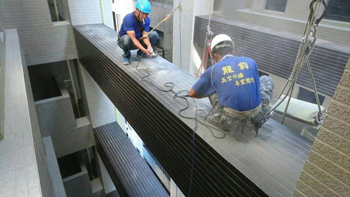 高空外牆清洗