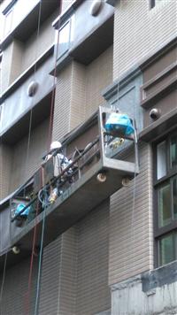 大樓外牆金屬鋁板安裝