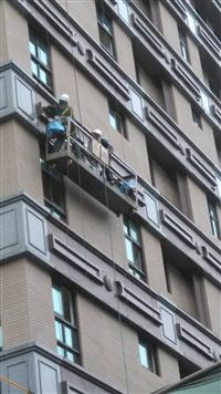社區外牆金屬鋁板安裝