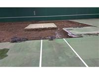 台北科技大學壓克力網球場施工2