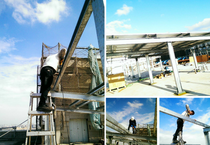 H型鋼結構廠房