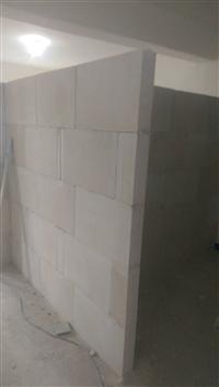 防潮石膏磚隔間施工