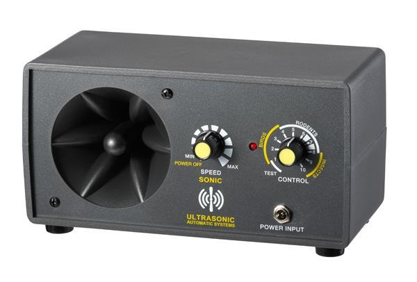 超音波驅鼠蟲器 (家用型:30坪)商品型號:JWP-307