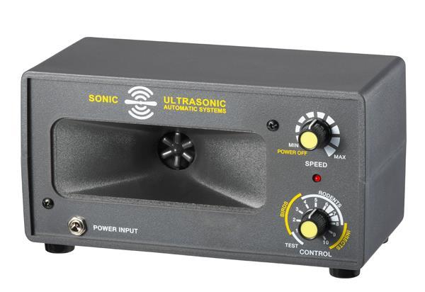 超音波驅鼠蟲器 (營業用型:50坪) 商品型號:JWP-309