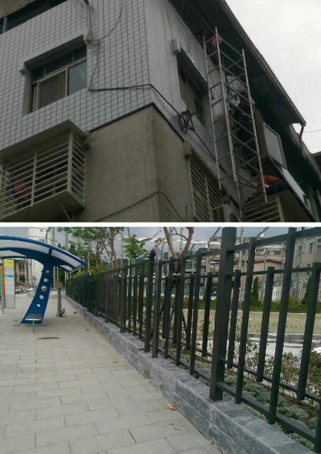 不銹鋼欄杆、不銹鋼爬梯
