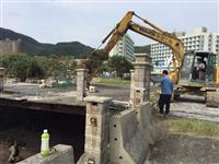 橋樑拆除工程