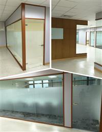 辦公隔間玻璃、強化玻璃隔間