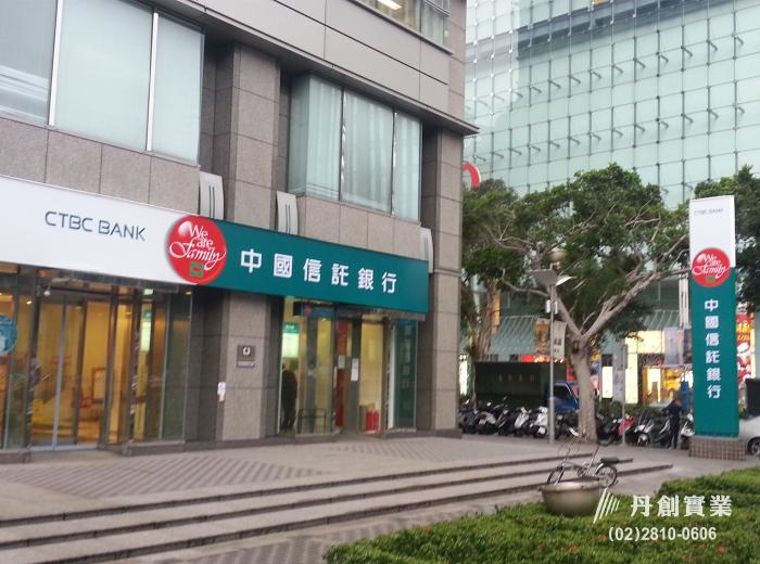 中國信託商業銀行-彩繪輸出無接縫招牌