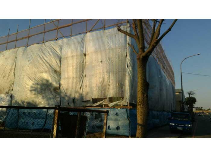 搭竹架-4外牆