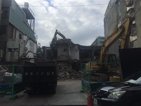舊屋拆除工程