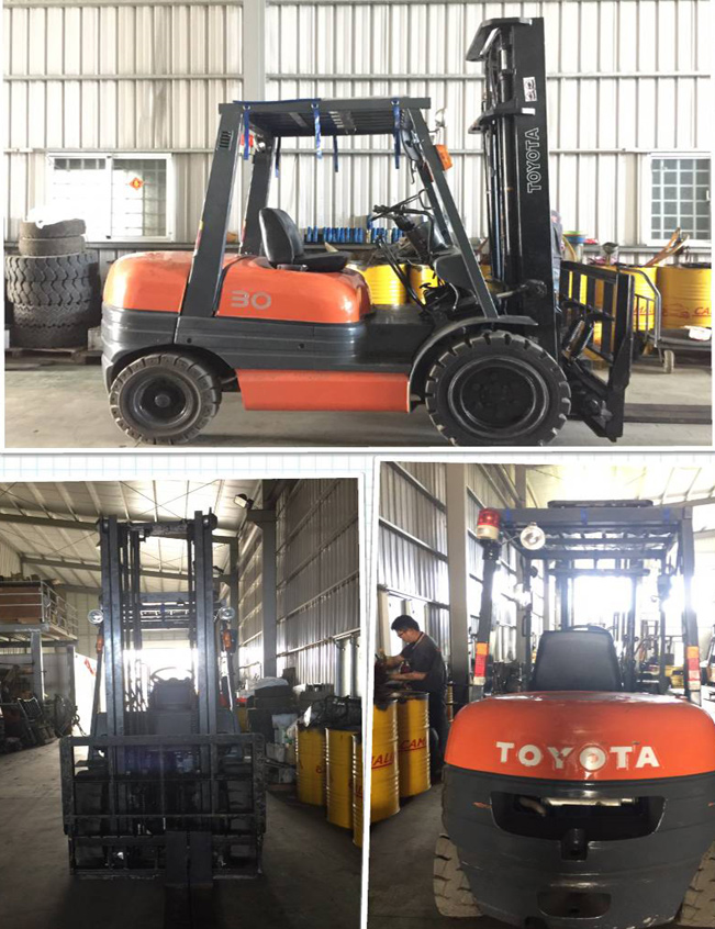 日本外匯TOYOTA 6型3.0噸二節4米反牙/手排