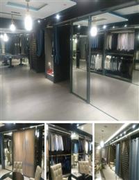 百貨商場玻璃櫥櫃、烤漆玻璃展示櫃