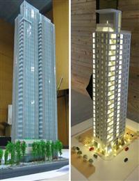 大樓模型、商業大樓模型