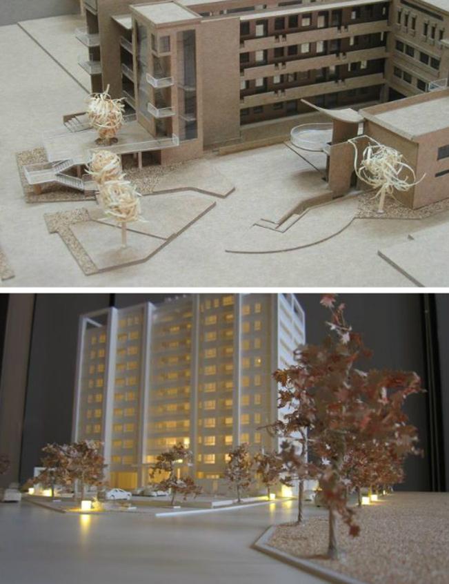 別墅住宅模型、住宅模型