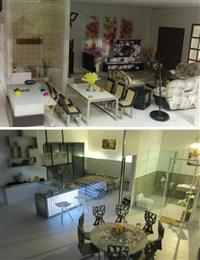 別墅住宅室內模型、住宅室內模型