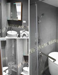玻璃衛浴隔間、衛浴玻璃門