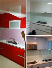 廚房玻璃烤漆、廚房玻璃檯面