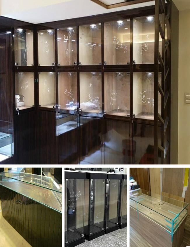 玻璃櫥櫃訂製、玻璃展示櫃