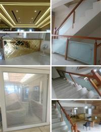 樓梯玻璃工程、居家玻璃、烤漆玻璃
