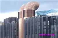 松山機場捷運站 不銹鋼牆板、不銹鋼鍍鈦板