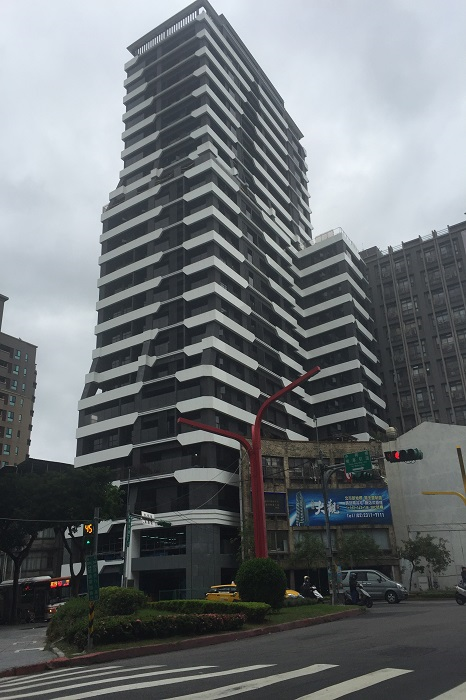 天強建設 京都大觀 造型鋁板