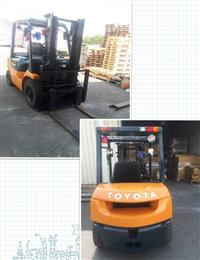 日本外匯TOYOTA 7 型2.5噸二節標準式/手排