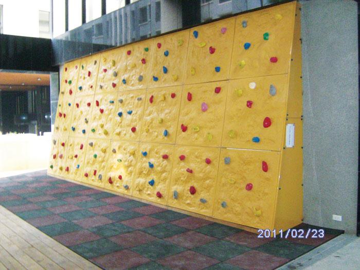 兒童攀岩牆