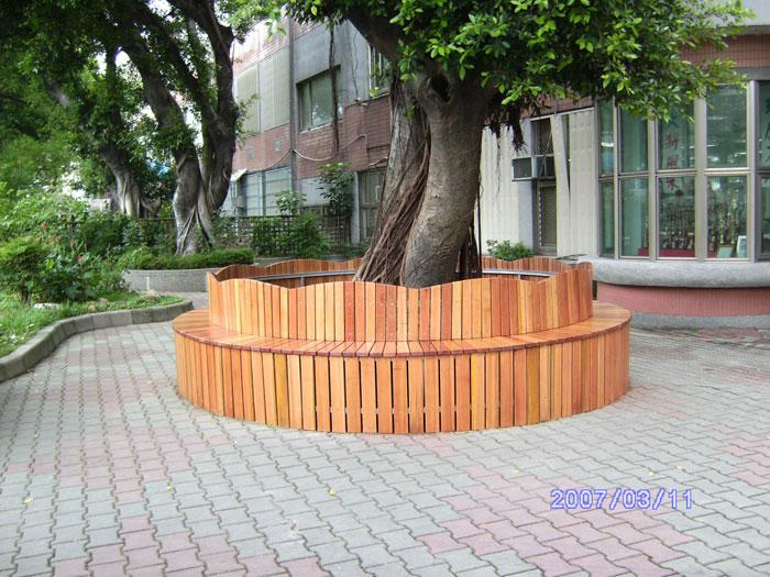 樹穴木座椅
