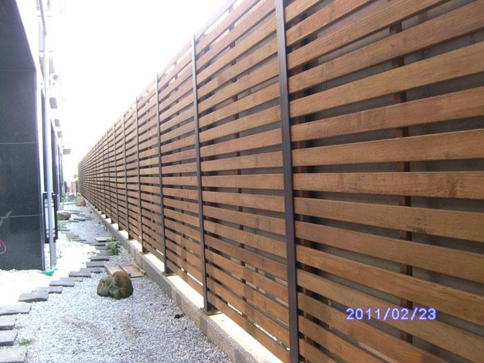 南方松木格柵