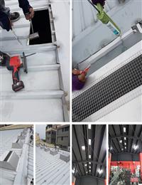 免電力屋頂通風熱器、廠房散熱處理
