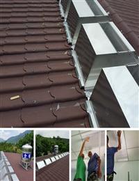 免電力屋頂通風散熱器、鐵皮屋通風散熱器