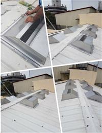 免電力屋頂通風熱器、廚房悶熱改善