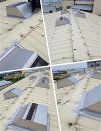 免電力屋頂通風熱器、鐵皮屋降溫通風器