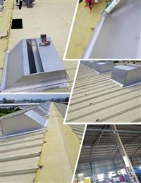 免電力屋頂通風熱器、不鏽鋼鐵皮屋採光散熱器