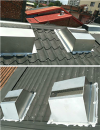 免電力屋頂通風散熱器、鐵皮屋降溫施工