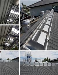 免電力屋頂通風散熱器、廠房散熱處理